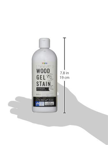 アサヒペン 水性WOODジェルステイン 300ML ホワイト 9018150