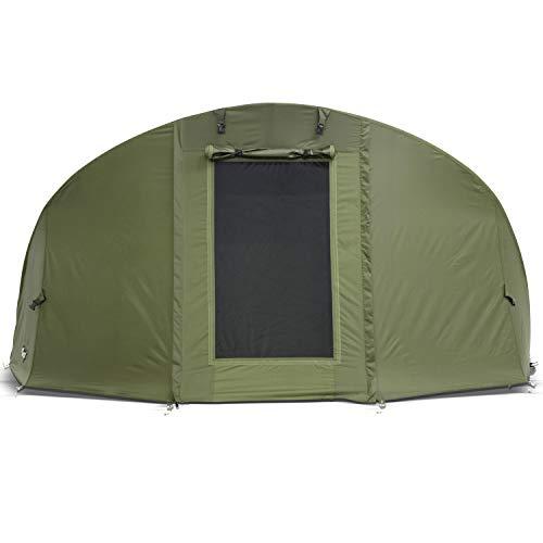 Lucx® Winterskin Überwurf Overwrap für Bobcat Bivvy Angelzelt Karpfenzelt Carp Dome (Kein Zelt nur Überwurf)