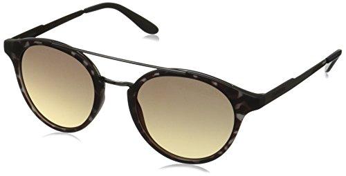 Carrera CA123/S Round Prescription Eyeglass Frames, Gray Havana Dark Ruthenium/Dark Gray Gradient, 49 mm