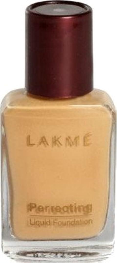真空ホールドオール血まみれLakme Perfect Liquid Foundation (大理石)