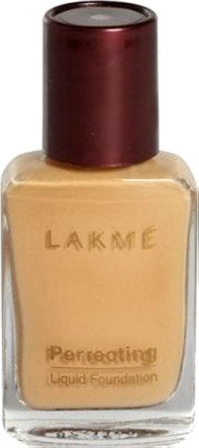 横向き確実舞い上がるLakme Perfect Liquid Foundation (大理石)