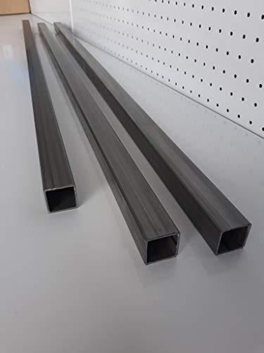 Tubo de hierro cuadrado espesor 1,5mm (40mm x 40mm LARGO 2000mm)