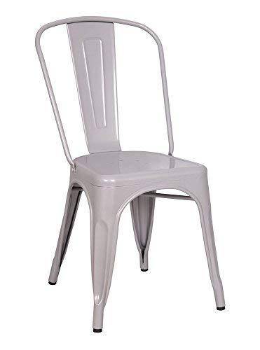 ACME Jakia Silver Side Chair Set of 2