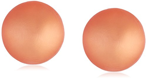 Alexis Bittar Womens Medium Dome Clip Earrings, Desert Red