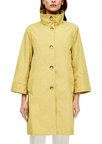 s.Oliver BLACK LABEL Damen 150.12.003.16.151.2038311 Trenchcoat, Yellow, 44