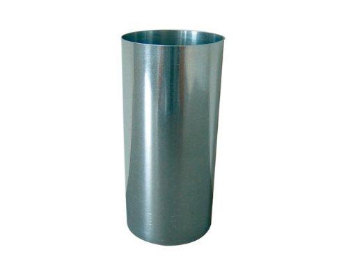Rewwer-Tec 31607 Ofenrohr Fal 50 cm lang, 100 mm Durchmesser