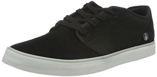 Volcom Herren Grimm 2 Shoe Sneakers, Schwarz (Black On Black), 45
