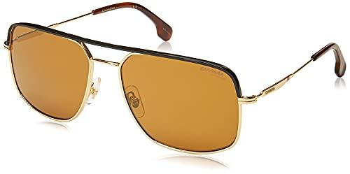 Carrera CA152/S Square Prescription Eyeglass Frames, Gold, 60 mm