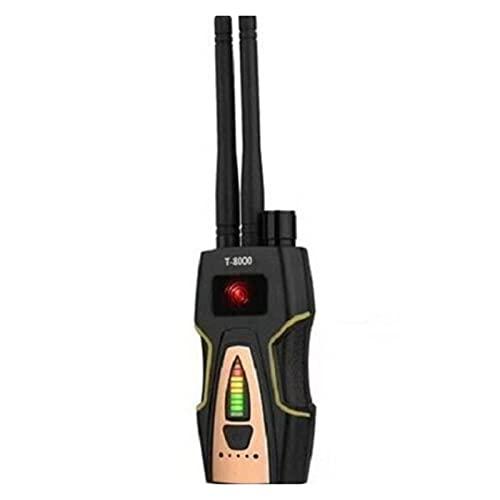 Detector GPS de mano T8000 anti-espía inalámbrica RF Detector de señal Detectar Detectar GSM Audio Finder GPS Scan Detector Anti SCAND de la cámara del escáner de la cámara Detección y seguimiento de