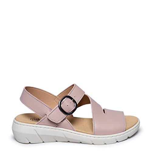 Zapatos miMaO. Zapatos Piel Mujer Hechos EN ESPAÑA. Sandalia CÓMODA. Sandalia Piel Suave Plantilla Extraíble en Piel Ultra Confort Gel