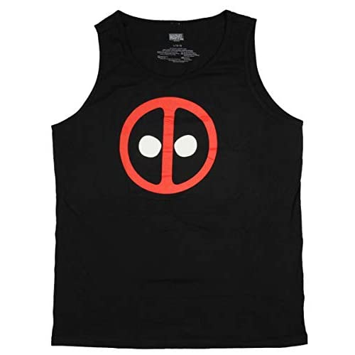 Marvel Deadpool Icon Men's Tank Top Shirt | XL