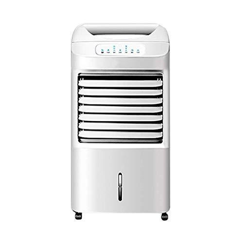 Climatización Refrigerador de aire portátil, aire acondicionado de doble uso en frío / calor, 4 en 1 Tanque de agua grande de bajo ruido. Funcionamiento completo de la oficina de la oficina blanca
