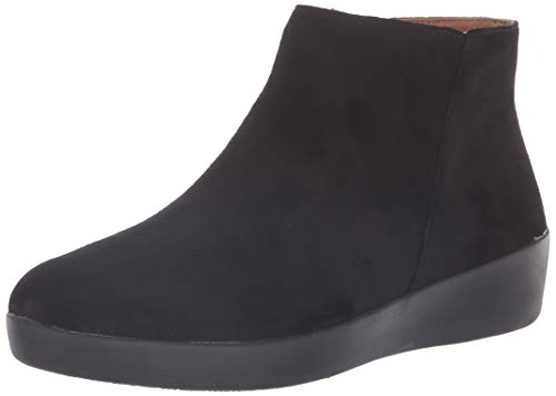 FitFlop Women's Boot Sumi, Black, 7.5 M US