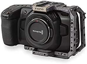 Tilta TA-T01-HCC Half Cage BMPCC 4K Cage Blackmagic Pocket Cinema Camera 4K Rig (Tilta Gray)