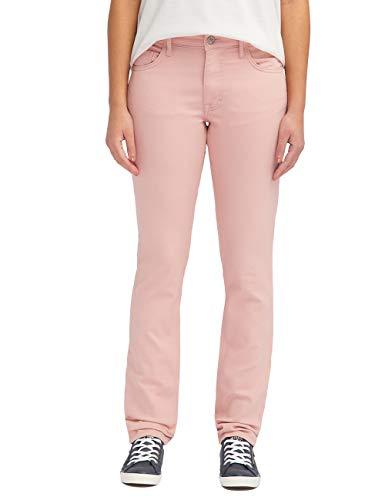 MUSTANG Damen Jeans Rebecca Comfort Fit Rot Rosa Grau W27 - W34 Stretchjeans Hose 78% Baumwolle, Größe:W 28 L 32, Farbvariante:Misty Rose (8089)