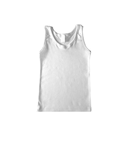 RAPIFE Camiseta Interior niño (12, Blanco)
