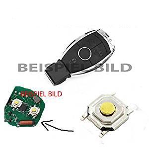 1 x télécommande pour Mercedes A B C E S CLK ML W164 W245 W212 W204 - Clé à micro interrupteur SMD.