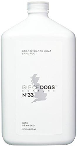 Isle of Dogs Coature No. 33 Coarse Coat Dog Shampoo for wire or crisp coats, 1 liter