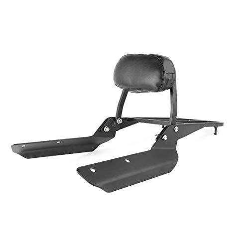 Passenger Backrest Sissy Bar + Luggage Rack Pad for Honda CTX700 CTX700D CTX700N 2014-2018