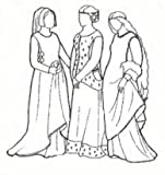 14th and 15th Century Sideless Gowns Pattern by Rocking Horse Farms