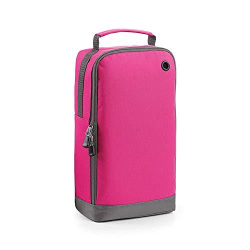 Bagbase Damen-Golfschuhtasche mit Tragegriff, personalisierbar, Pink