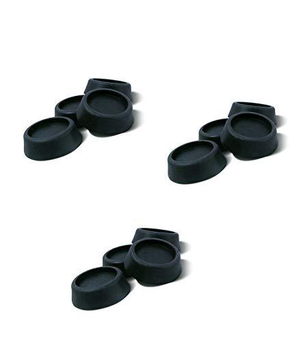 Patins anti vibration pour machine à laver - Lot de 12