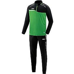 JAKO Kinder Competition 2.0 Trainingsanzug Polyester, Soft Green/Schwarz, 128