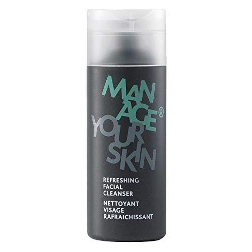Dr. Spiller - Refreshing Facial Cleanser | Reinigungsgel | Für alle Typen von Haut geeignet | Feuchtigkeitsspendend. beruhigend & stärkend | Pfefferminzöl. Klette & Alpenwermut