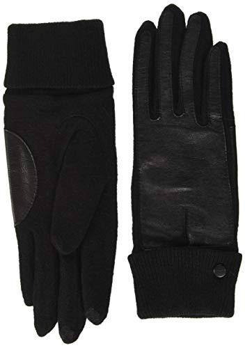 ESPRIT Accessoires Damen 100EA1R324 Winter-Handschuhe, 001/BLACK, L