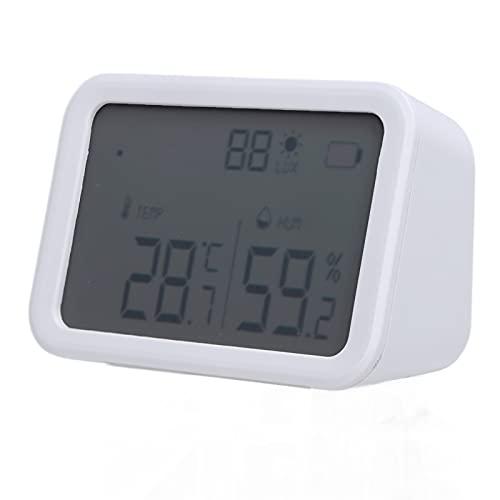Monitor di umidità della temperatura, ampio display LCD del sensore di temperatura per la stanza del bambino per la casa