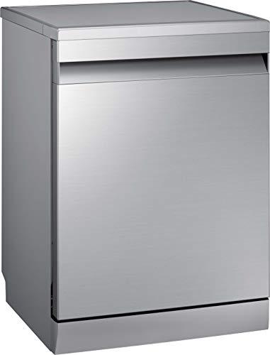 Samsung DW7500 DW60R7040FS/EC Freistehender Geschirrspüler/Breite 59,8 cm / 13 Maßgedecke/A+++ / Automatische Türöffnung/Leise-Funktion/Hygiene-Funktion/Silber