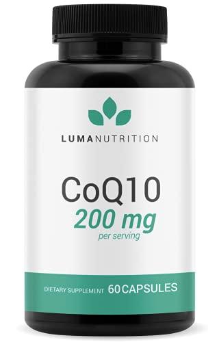 CoQ10 200mg Liquid CapsulesSoftgels - CoQ10 200mg Softgels - Premium...