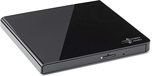 LG GP57EB40 8x8x8xDVD+RW 8x6DVD-RW 6xDVD+/- DL 5xDVD-RAM DVD-Brenner Slim extern USB2.0 Black RTL, Schwarz