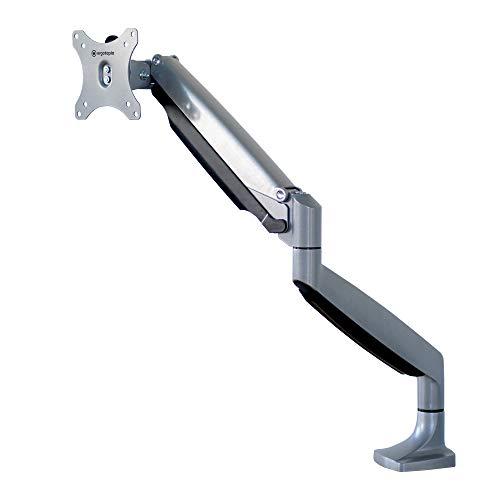 Ergotopia Ergonomischer Bildschirmhalter 360° schwenkbar | Höhenverstellbarer Monitorarm mit stabiler Tischhalterung | Monitorhalter mit VESA Befestigungsplatte für 13