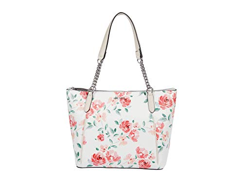Nine West Elsy Carryall White Floral One Size