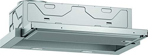 Neff D46ED22X1 Einbau-Dunstabzugshaube / Flachschirmhaube N50 / 60cm / Abluft oder Umluft / Energieeffizienzklasse A / silbermetallic