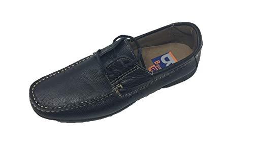 Zapato de Hombre/Biguer's/Tallas Grandes/Tallas Especiales/Piel Legítima/Modelo Santos/Talla 47