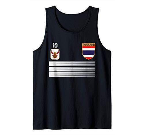 Camisola de futbol de Tailandia 2021 Futbol de Tailandia Camiseta sin Mangas