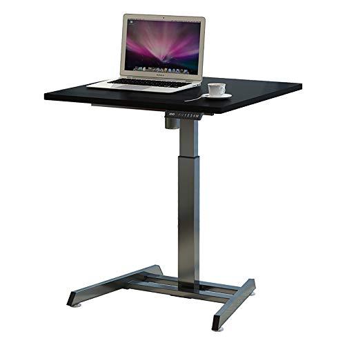 ZHFC Soporte eléctrico de escritorio, mesa de elevación para portátil, base ergonómica regulable en altura con motor individual, con controlador de memoria, para salón, oficina ECC.