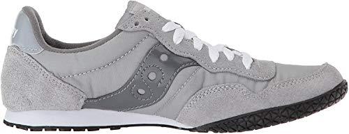 Saucony Originals womens Bullet Sneaker, grey, 9.5 Medium US