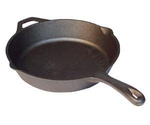 "Camp Chef 12"" Seasoned Cast Iron Skillet"