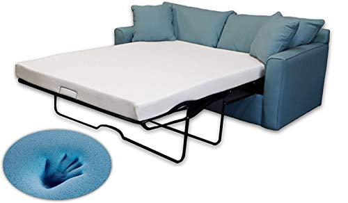 DynastyMattress 4.5-inch Cool Gel Memory Foam Mattress for Sofa & Couch Beds Full Size