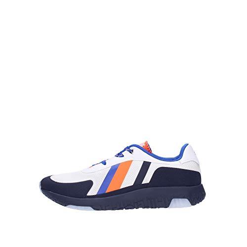 Tommy Hilfiger FM0FM02599 - Zapatillas de tenis para hombre, Blanco (blanco), 41 EU