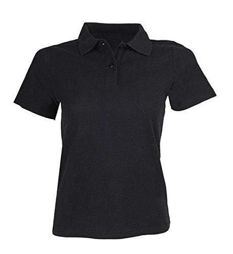 HKM volwassenen poloshirt dames Stedman-9100 zwart XXL broek, 9100 zwart, XXL