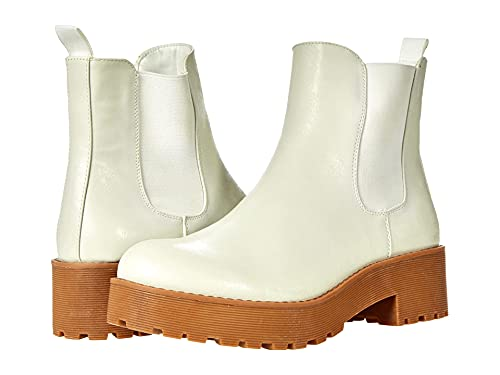 Dirty Laundry by Chinese Laundry Women's MAPS SMTH Light Chelsea Boot, White, 10