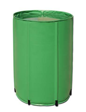 Aquaking Faltbares Wasserfass 100L PVC, Flex Tank, Nährstoff Tank, Regentonne, Regenfass, Wassertonne