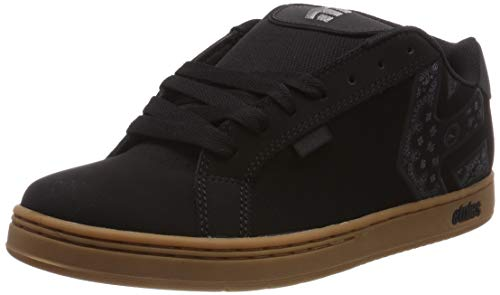 Etnies Metal Mulisha Fader, Chaussures de Skateboard Homme, Noir (Black/Gum 964), 42 EU