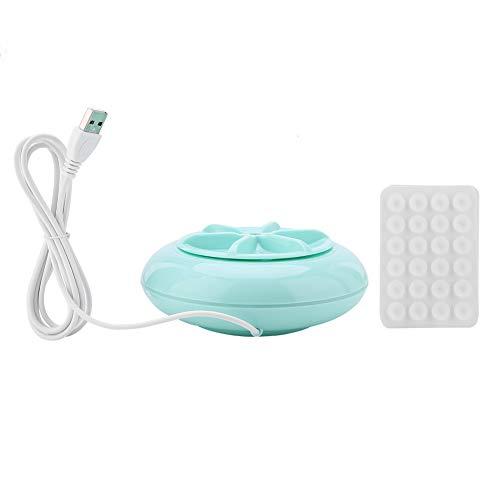 Lecxin Lavatrice a turbina, 2 in 1 Mini USB Portatile ultrasuoni centrifuga Lavatrice Lavatrice Lavatrice a turbina