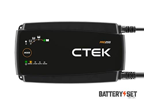 CTEK PRO 25S : recharge toutes les batteries 12V au plomb et au Lithium