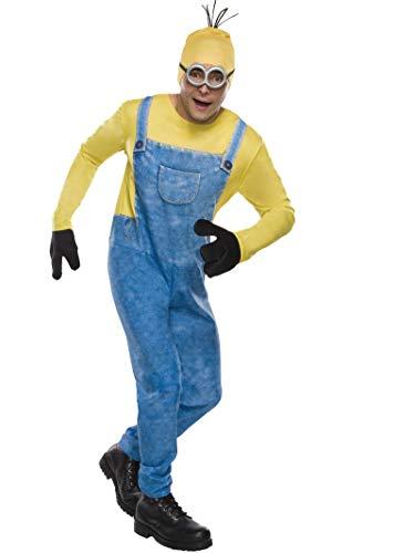 Rubie's offizielles Minion Kostüm für Erwachsene, Standardgröße